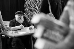 George R. R. Martin at MisCon