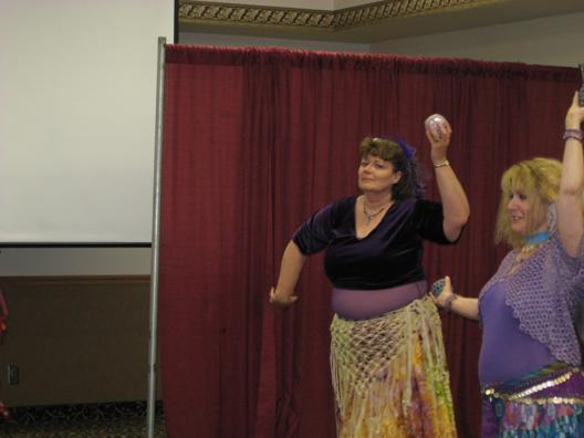 Belly Dancing at MisCon 21