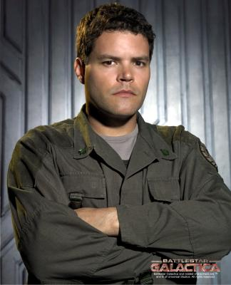 Aaron Douglas is best known for his portrayal of Chief Galen Tyrol on Battlestar Galactica. Before joining the Battlestar cast Aaron had roles on many Films and TV shows including: X-Men 2, iRobot, Stargate SG-1, Andromeda, The Exorcism of Emily Rose, Outer Limits and many many more. Since Battlestar Galactica we have found Aaron in his own show The Bridge as well as Series Leads in Hellcats, Hemlock Grove, The Killing and The Returned. Besides Guest Star Appearances in Falling Skies, The Strain, Girlfriends Guide to Divorce, iZombie, The X-Files, The Flash, Once Upon A Time, and more, Aaron is currently filming his new shows Dirk Gently's Holistic Detective Agency and My So Called Wife.
